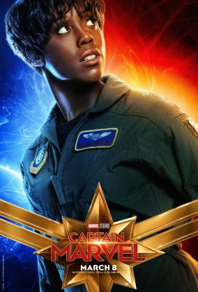 captain marvel poster lashana lynch 284x420 - Los Personajes de Capitana Marvel