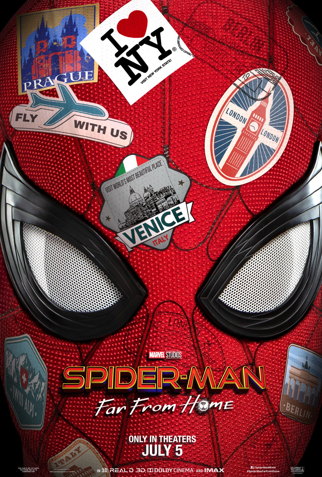 spider man far from home poster - Teaser trailer oficial de Spider-Man: Lejos de Casa