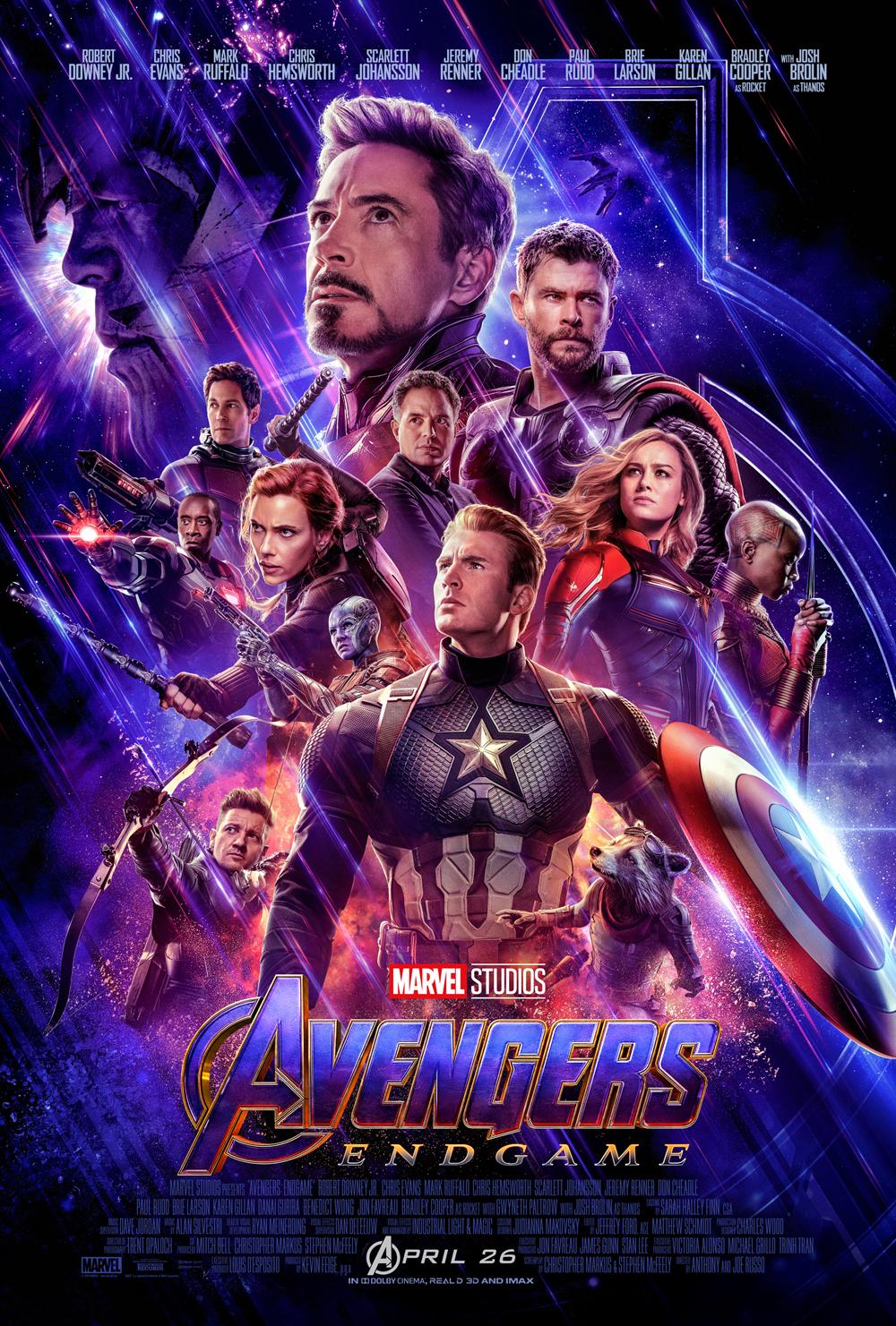 avengers endgame poster - Trailer final de Avengers: Endgame