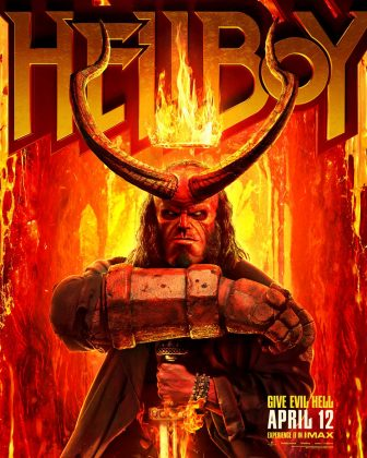 hellboy poster 336x420 - Segundo trailer de Hellboy