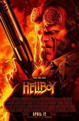 hellboy reboot poster 276x420 - Segundo trailer de Hellboy