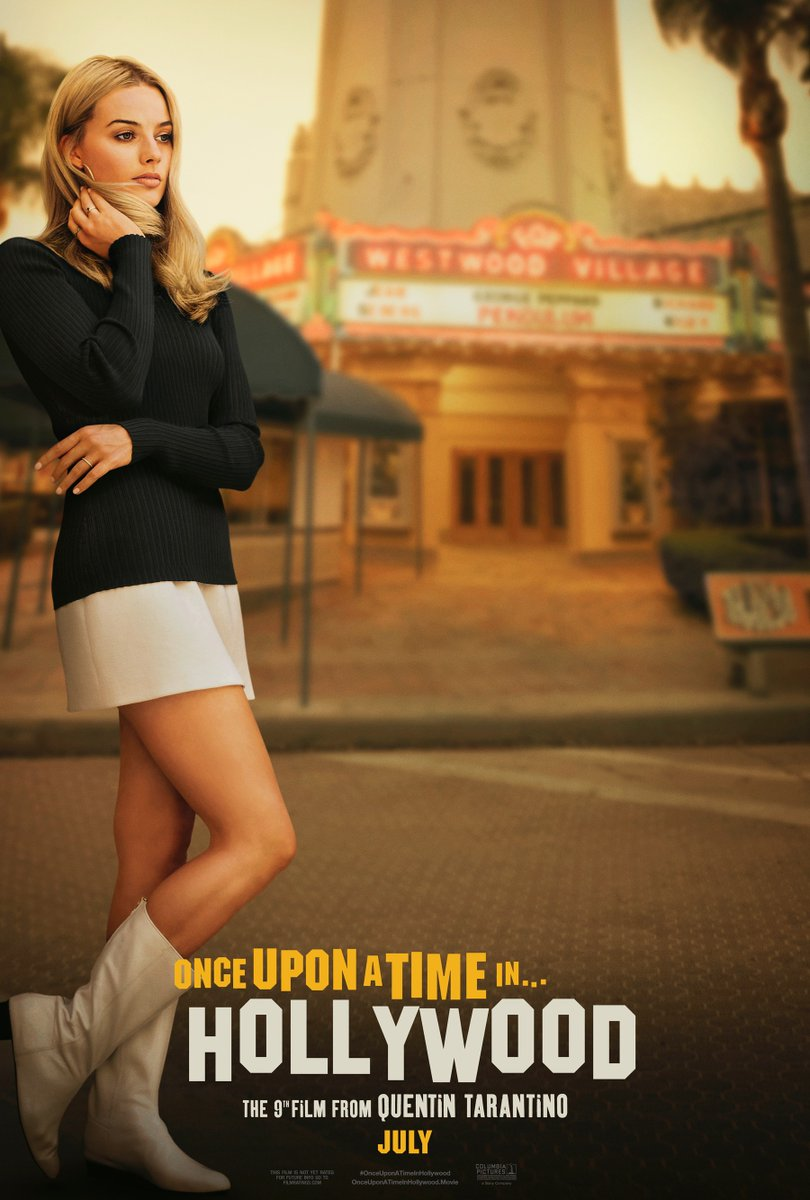 once upon a time in hollywood poster margot robbie - Los pósters de Once Upon a Time in Hollywood de Quentin Tarantino