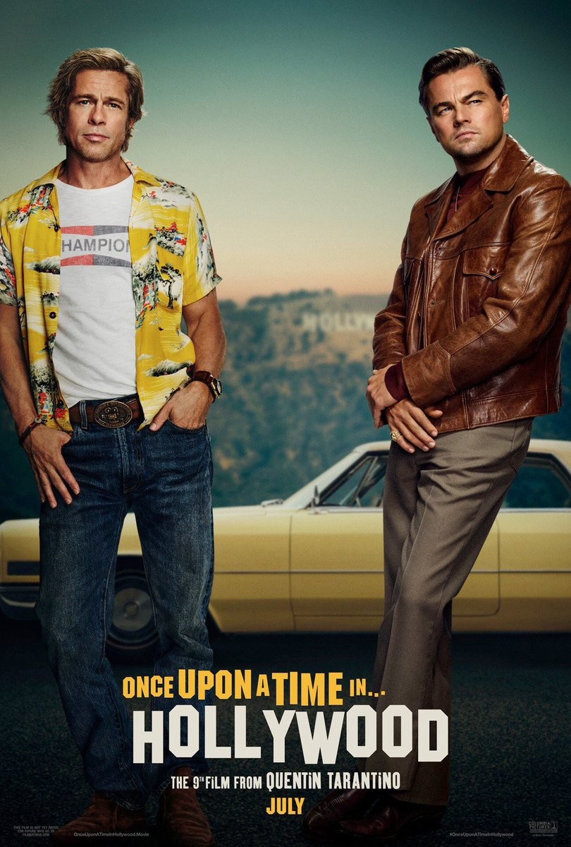once upon a time in hollywood poster - Los pósters de Once Upon a Time in Hollywood de Quentin Tarantino