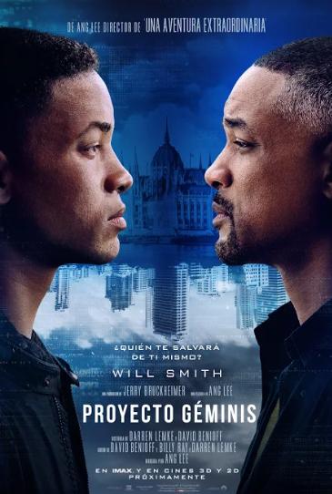 poster proyecto geminis - Trailer oficial de Proyecto Géminis con Will Smith