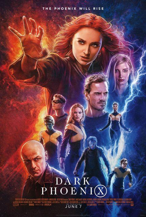 darkphoenix poster 480x711 - Nuevo poster de X-Men: Dark Phoenix