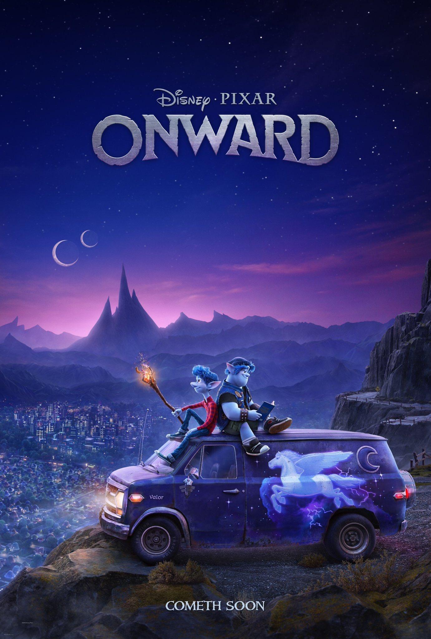 onward poster - Trailer oficial de Unidos: Lo nuevo de Pixar