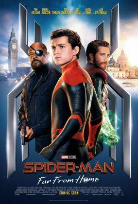 spider man far from home poster fury mysterio 284x420 - Horribles Pósters con los Personajes de Spider-Man: Lejos de Casa
