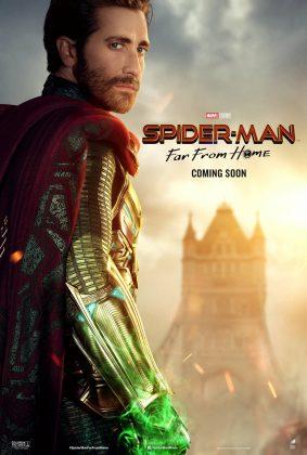 spider man far from home poster jake gyllenhaal 283x420 - Horribles Pósters con los Personajes de Spider-Man: Lejos de Casa