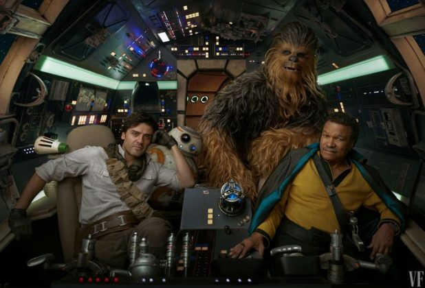 star wars rise of skywalker vanity fair oscar isaac billy dee williams 618x420 - Nuevas imágenes de Star Wars: The Rise of Skywalker