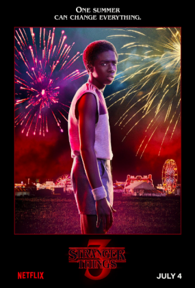 stranger things season 3 poster caleb mclaughlin 285x420 - Stranger Things Temporada 3: Personajes