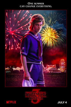 stranger things season 3 poster joe keery 282x420 - Stranger Things Temporada 3: Personajes