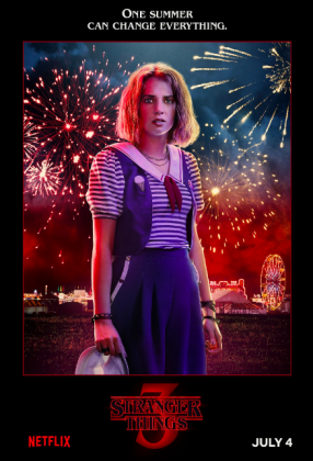 stranger things season 3 poster maya thurman hawke 286x420 - Stranger Things Temporada 3: Personajes