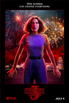 stranger things season 3 poster millie bobby brown 285x420 - Stranger Things Temporada 3: Personajes