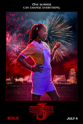 stranger things season 3 poster priah ferguson 283x420 - Stranger Things Temporada 3: Personajes