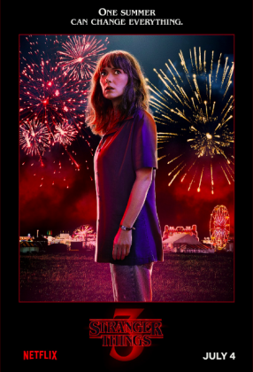 stranger things season 3 poster winona ryder 286x420 - Stranger Things Temporada 3: Personajes
