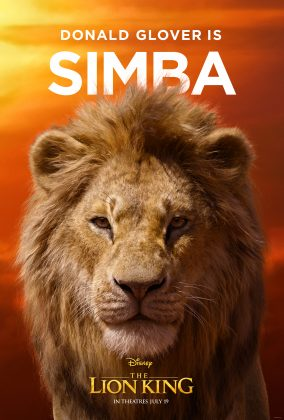 the lion king poster simba 284x420 - Los Personajes de El Rey León Live Action