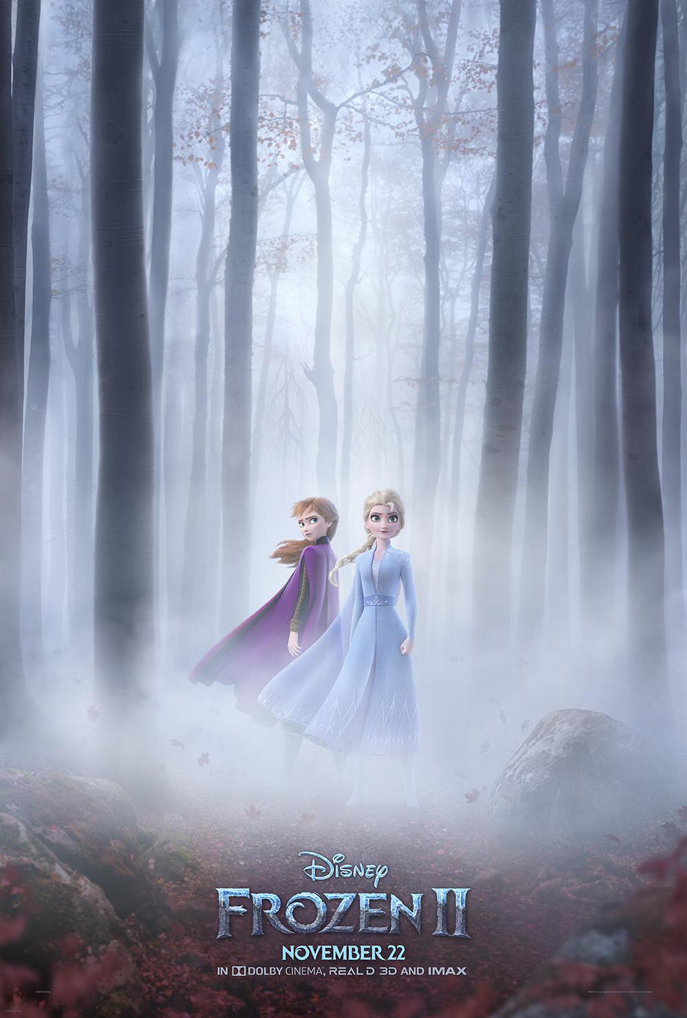 frozen 2 teaser poster - Segundo trailer oficial de Frozen 2