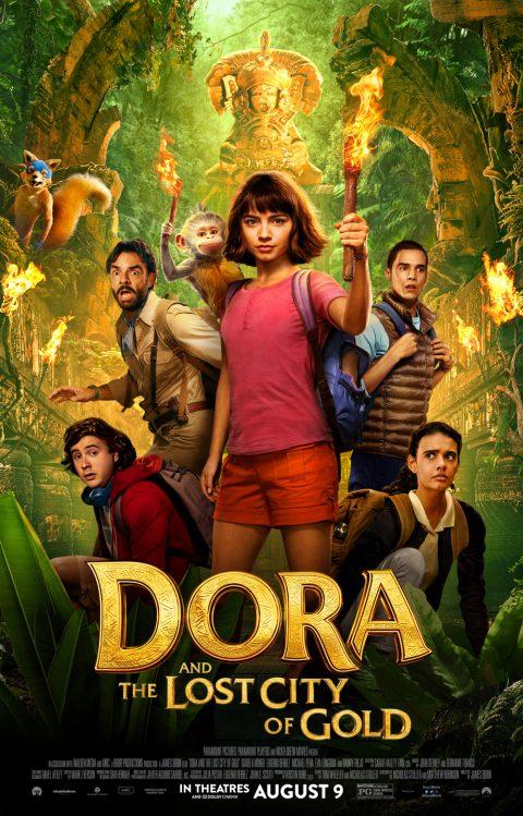 dora and the lost city of gold poster 480x749 - Nuevo Trailer y poster de Dora y la Ciudad Perdida