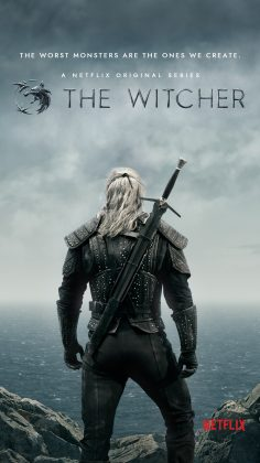 the witcher poster 236x420 - Primer vistazo a The Witcher de Netflix