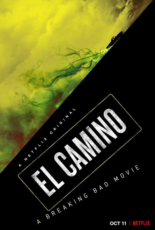 breaking bad movie el camino netflix poster - Teaser de El Camino: La película spinoff de Breaking Bad
