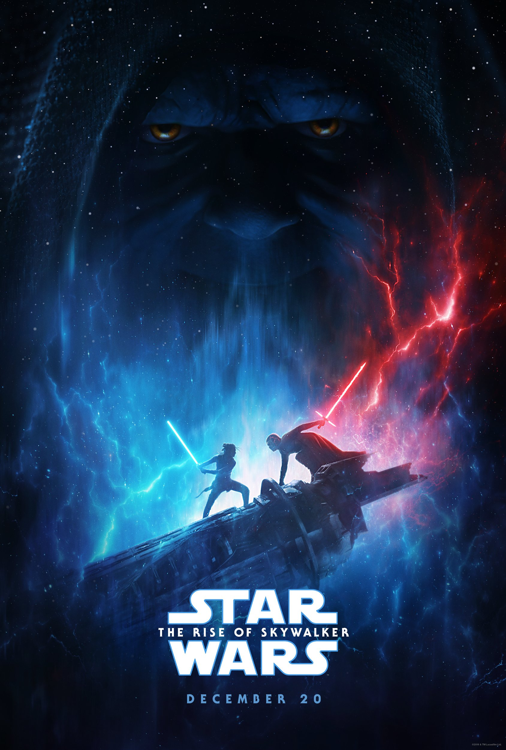 star wars the rise of skywalker official poster - Nuevo Teaser de Star Wars: The Rise of Skywalker con la Rey Oscura
