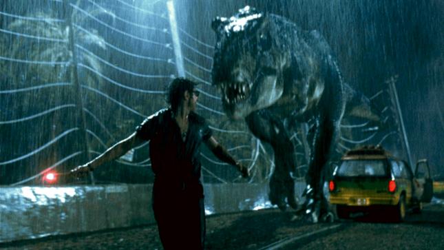 jeff goldblum tiranosaurio jurassic park 645x363 - Regresa el trío original para Jurassic World 3