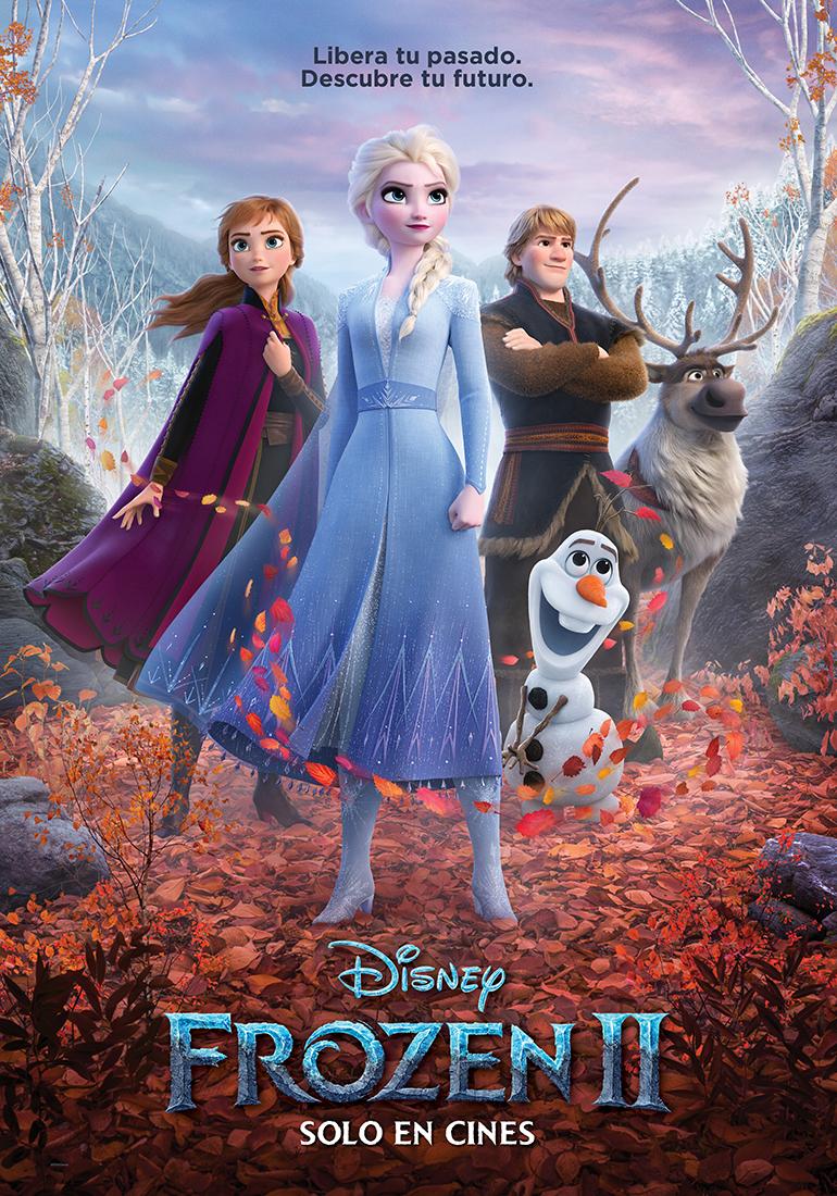 Frozen 2 Póster oficial - Otro trailer más de Frozen 2