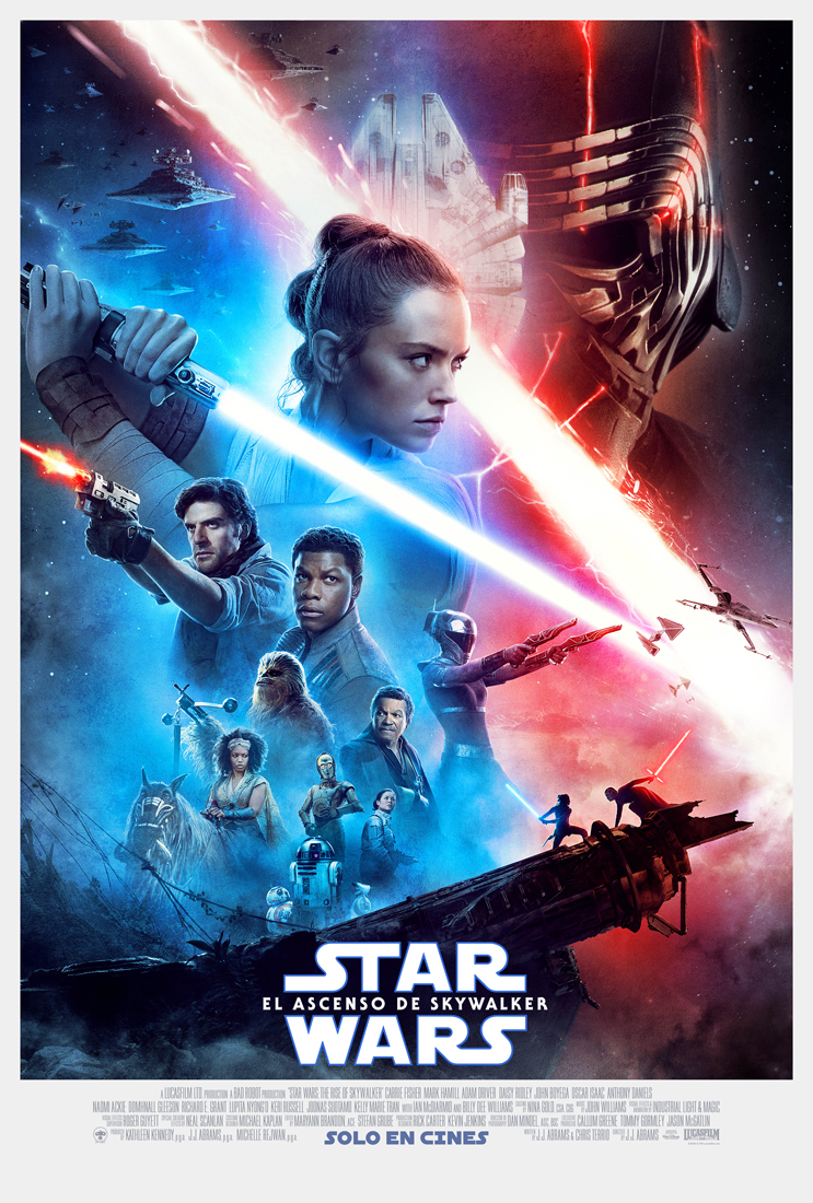 Star Wars El Ascenso de Skywalker Poster Oficial - Trailer final de Star Wars: El Ascenso de Skywalker