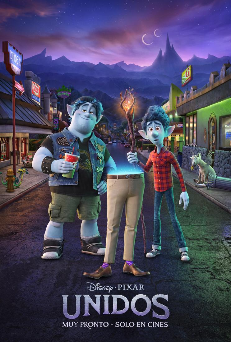 Unidos Poster Oficial - Segundo trailer oficial de Unidos de Pixar