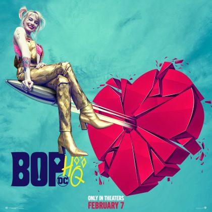 birds of prey harley quinn poster 420x420 - Trailer oficial de Aves de Presa (y la fantástica emancipación de una Harley Quinn) con Margot Robbie