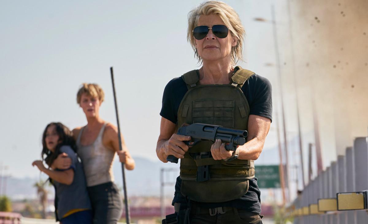 terminator dark fate review linda hamilton and arnold schwarzenegger reunion - Terminator: Destino Oculto - La Reseña Cinergetica