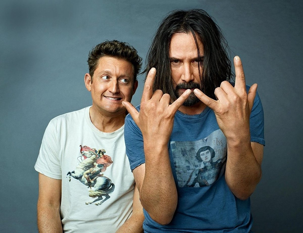 bill y ted salvando el mundo
